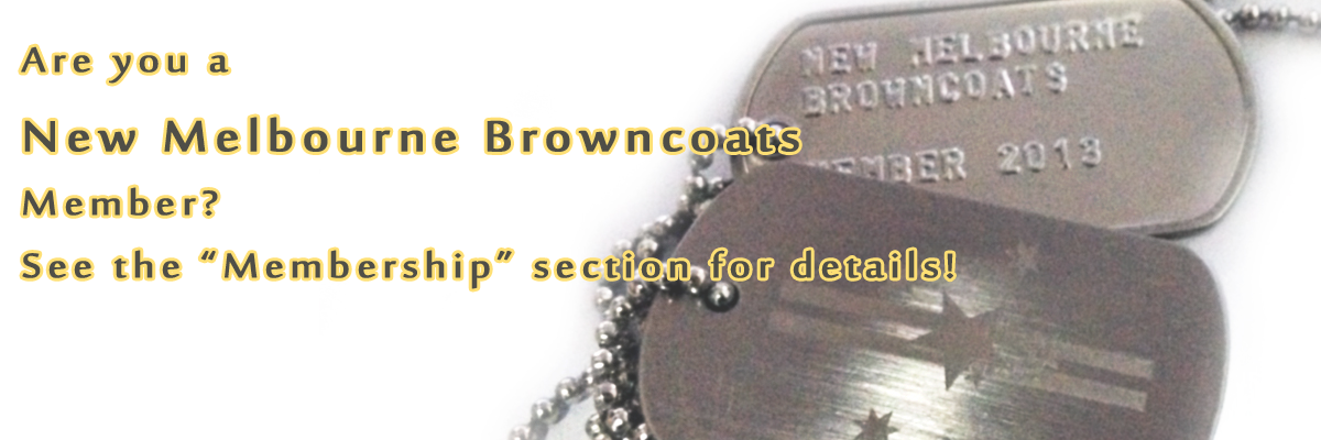 Are you a New Melbourne Browncoats Member?