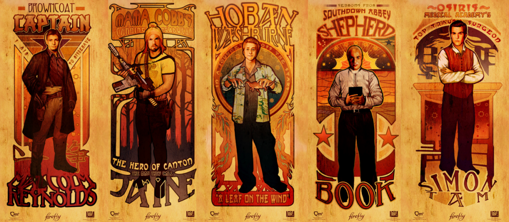 Firefly Artwork Abounds at Oz Comic Con Melbourne this