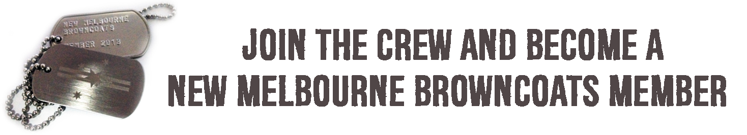 Become a New Melbourne Browncoats Member